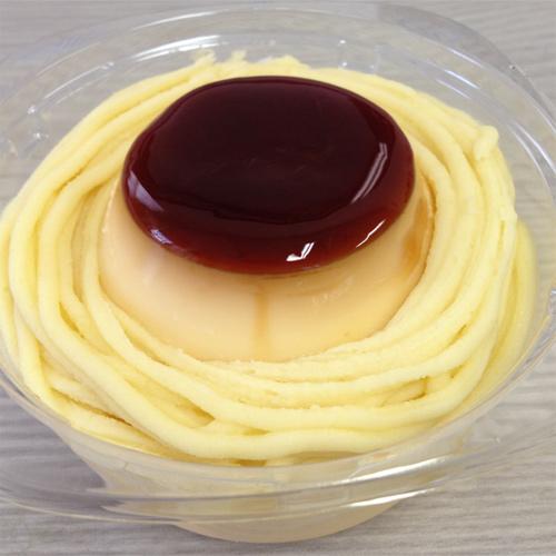 さつまいもクリームのプリンケーキ