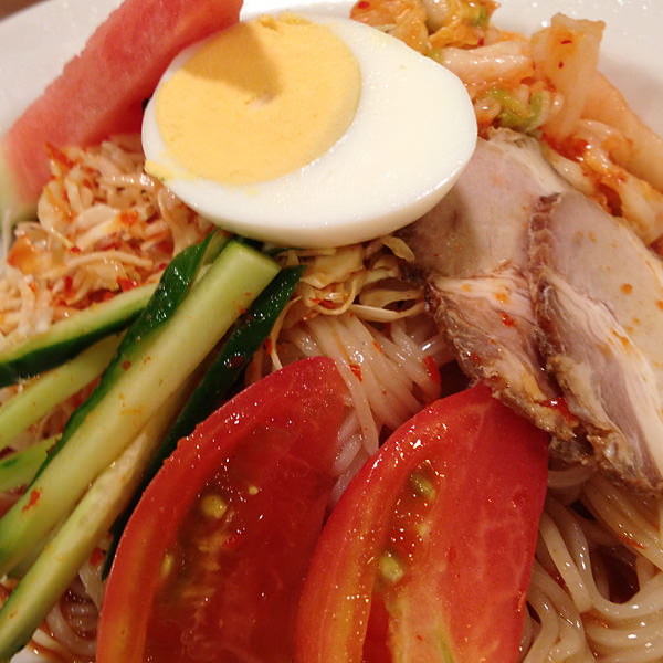 山水亭 韓国風冷麺