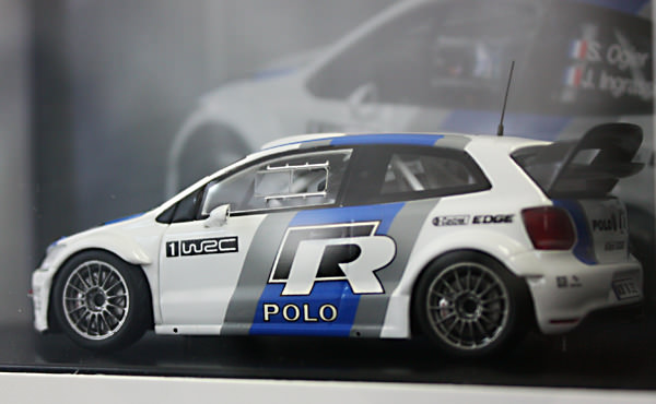Polo R WRC test car 1/43ミニカー