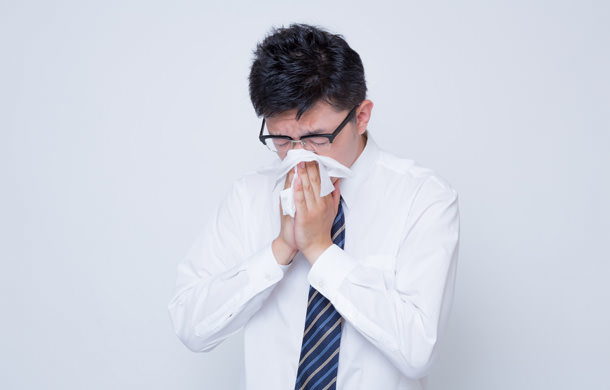 風邪を引いた