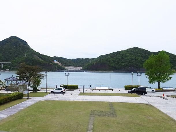 浦島屋バルコニーからの景色