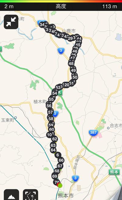 20140508サイクリング距離